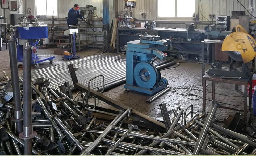 Цех по изготовлению металлоконструкций