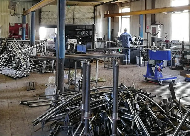 Обработка металлоконструкций
