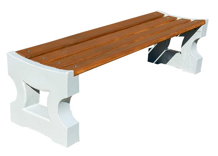 Скамейка бетонная СК Корда 11