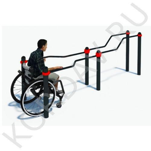 Воркаут для маломобильных групп (инвалиды)