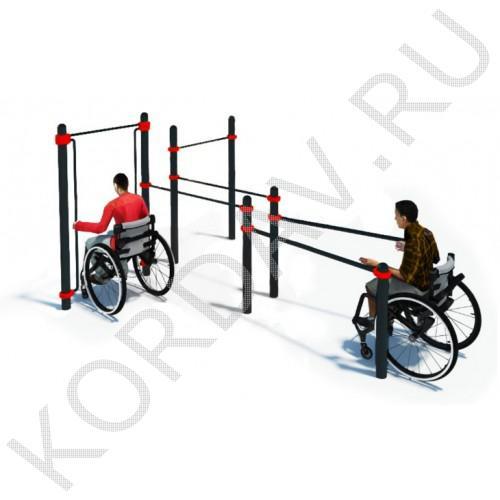 Воркаут Комплекс для инвалидов-колясочников СТ 2.15