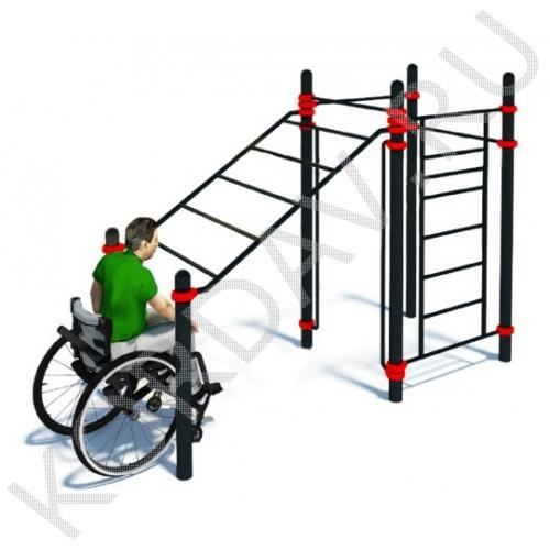 Воркаут Комплекс для инвалидов-колясочников СТ 2.18