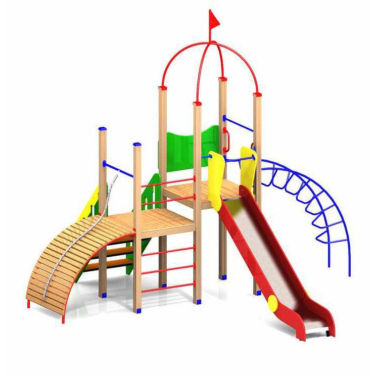 Детские игровые комплексы для детей 3-7 лет