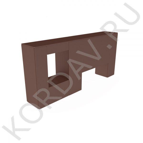 Стенка с двумя проломами ПП2 (3)