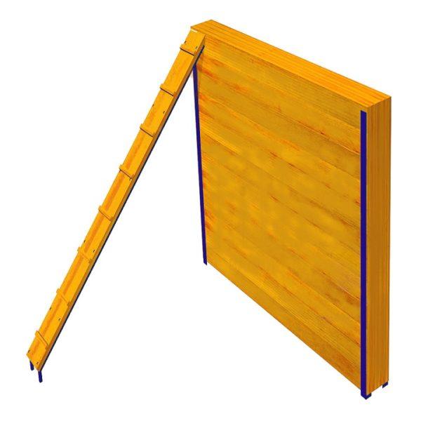 Забор с наклонной доской ПП7 (0)