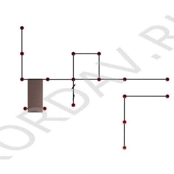 Воркаут Спортивный комплекс Универсальный (108 труба) СТ 1.461 (0)