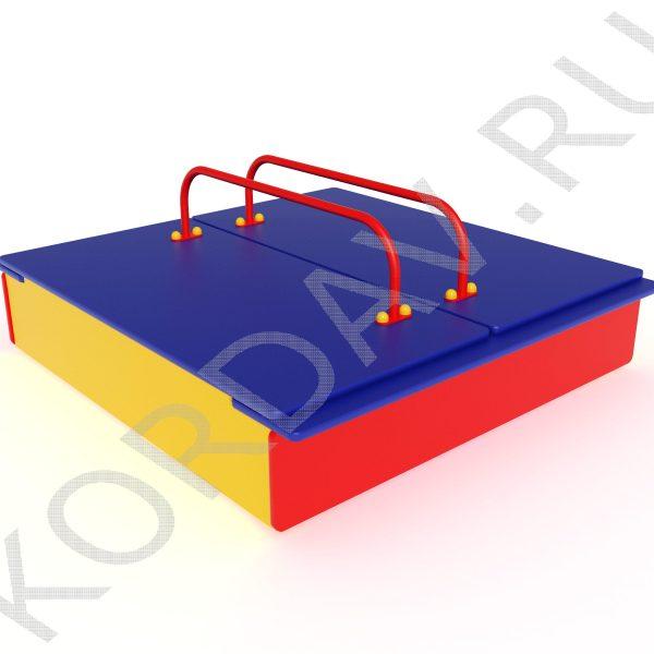 Песочница с крышкой МАФ 8.211 (1)