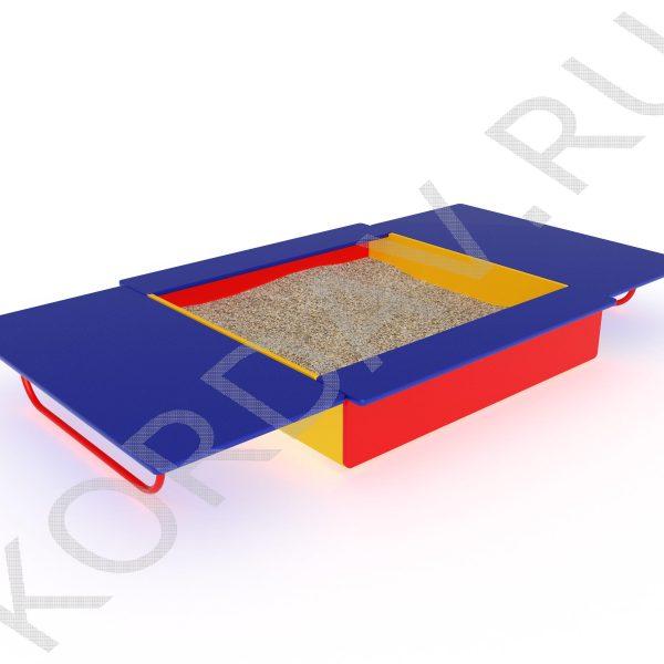 Песочница с крышкой МАФ 8.211 (2)