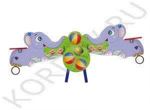 Качели-балансир Слоны ИО 6.361 (0)