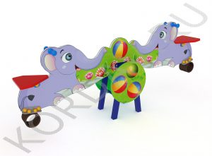 Качели-балансир Слоны ИО 6.361