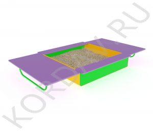 Песочница с крышкой МАФ 8.212 (3)