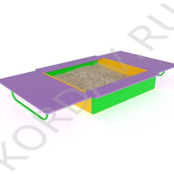 Песочница с крышкой МАФ 8.211 (3)