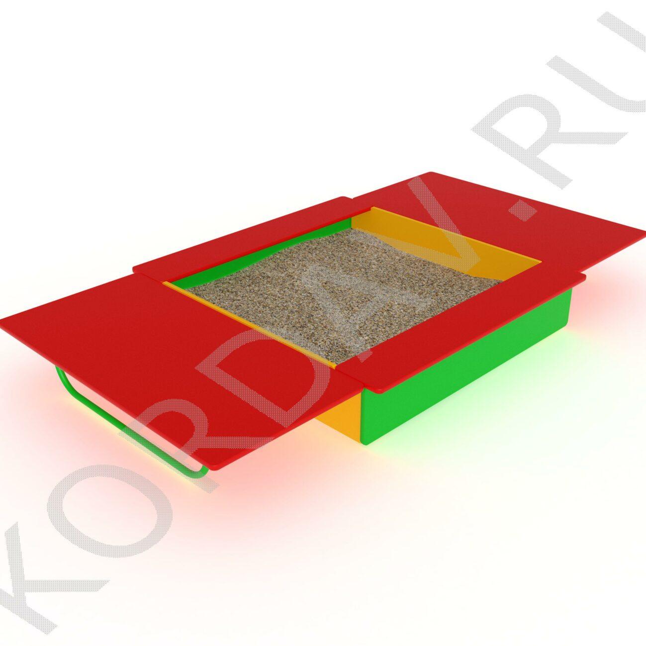 Песочница с крышкой МАФ 8.211
