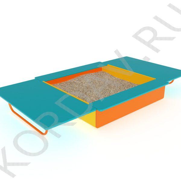 Песочница с крышкой МАФ 8.211 (5)