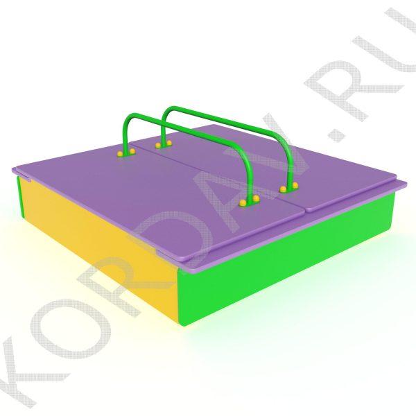 Песочница с крышкой МАФ 8.211 (6)