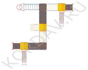 С горками рукоходом и спиралью ПДИ 2.32 (1)