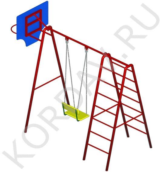 Баскетбольное кольцо, качели, лестницы СК 6.361 (3)