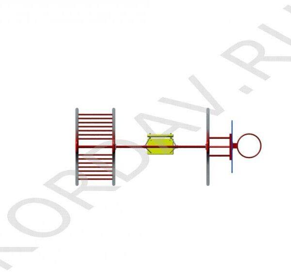 Баскетбольное кольцо, качели, лестницы СК 6.361 (4)