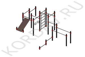 Воркаут Спортивный комплекс Универсальный (108 труба) СТ 1.461