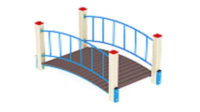 Мост детский ИО 6.126