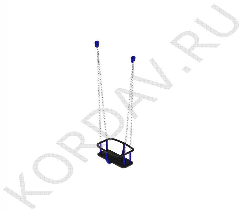Сидение-люлька Резиновое (цепь) Для детей 2-3лет ИО 6.170