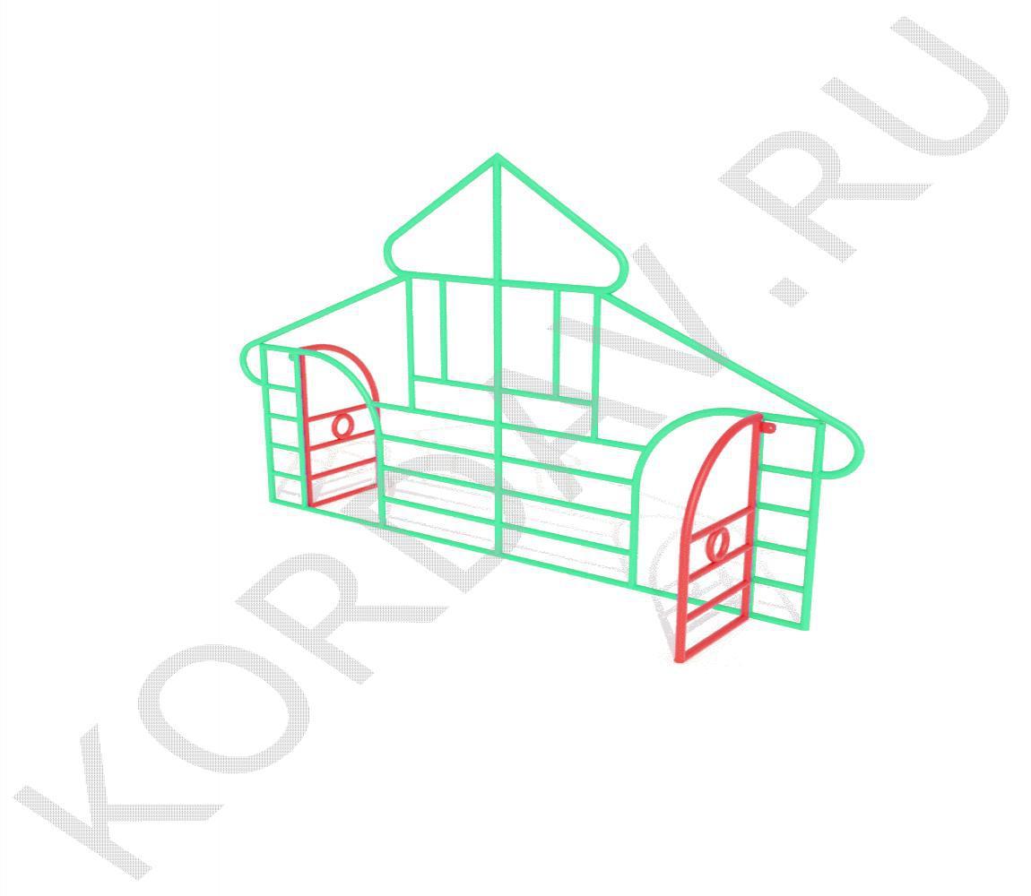Лазилка Дом ИО 6.45