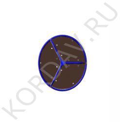 Карусель D-1000 Высота 700 D=5000 ИО 7.021 (0)