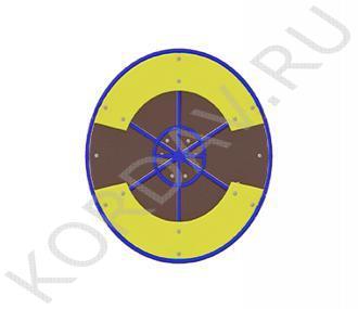 Карусель с рулём D-1620 Высота 600 D=5600 ИО 7.051 (1)