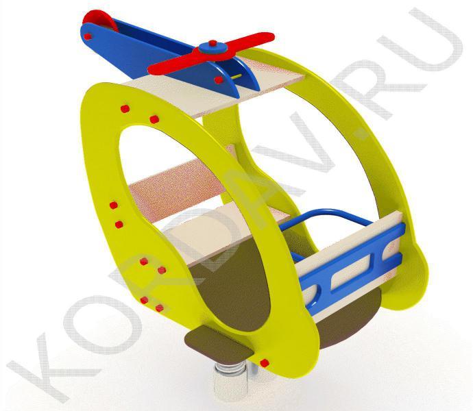 Качалка на пружине Вертолёт ИО 7.201 (2)