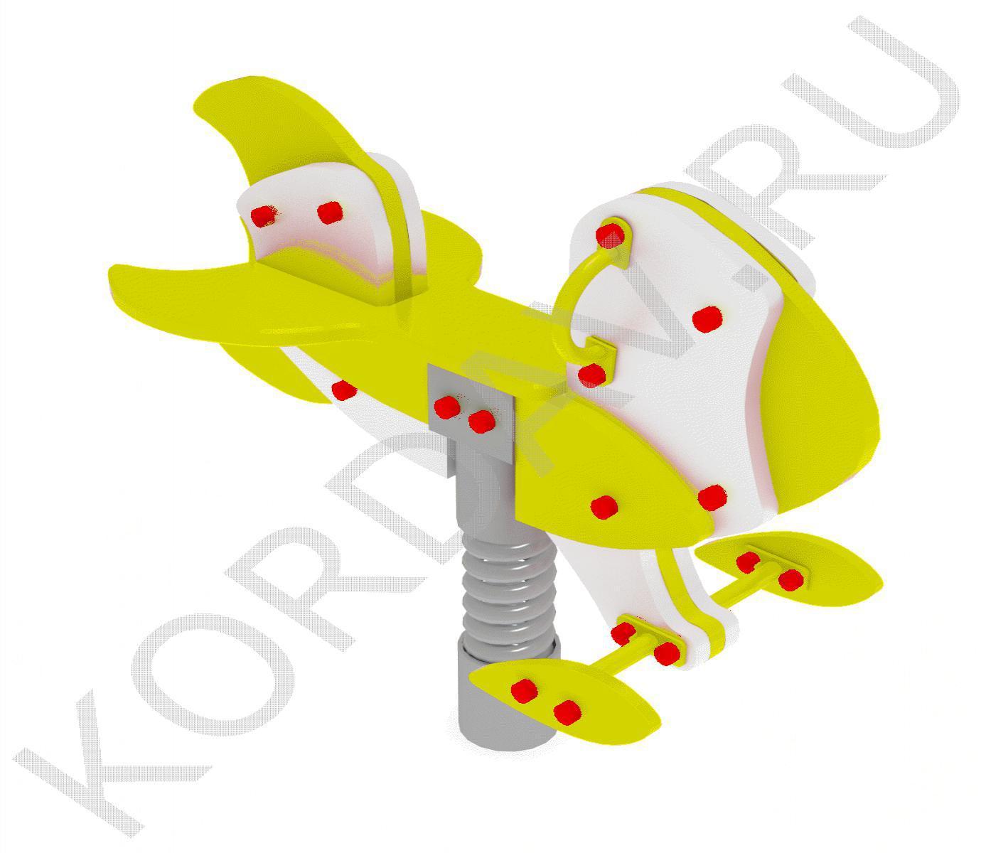 Качалка на пружине  Ракета ИО 7.221