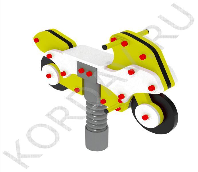 Качалка на пружине Мотоцикл ИО 7.231 (1)