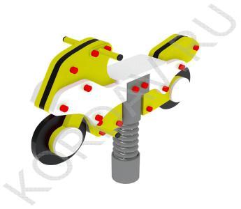 Качалка на пружине Мотоцикл ИО 7.231 (2)