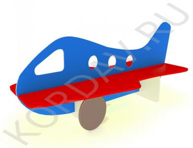 Скамейка двойная детская Самолёт МАФ 10.081 (0)