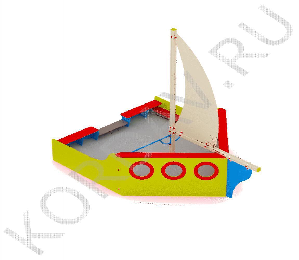 Песочница Яхта МАФ 8.171