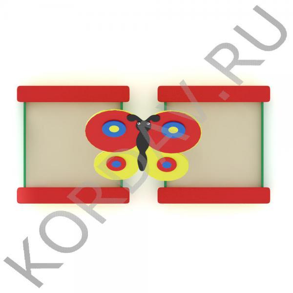 Песочница двойная Бабочка МАФ 8.181 (3)