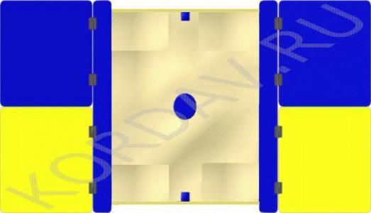 Песочница с крышкой большая МАФ 8.221 (2)