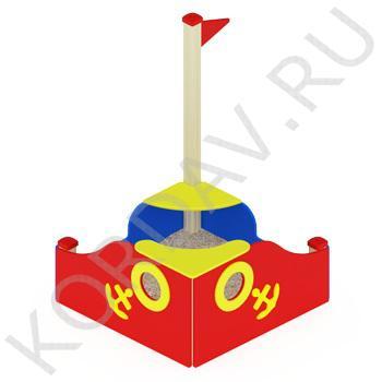 Песочница Кораблик МАФ 8.241 (1)