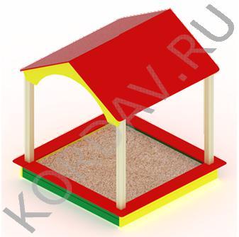Песочный дворик домик МАФ 8.311