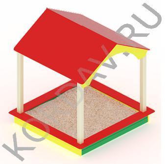 Песочный дворик домик МАФ 8.311 (2)