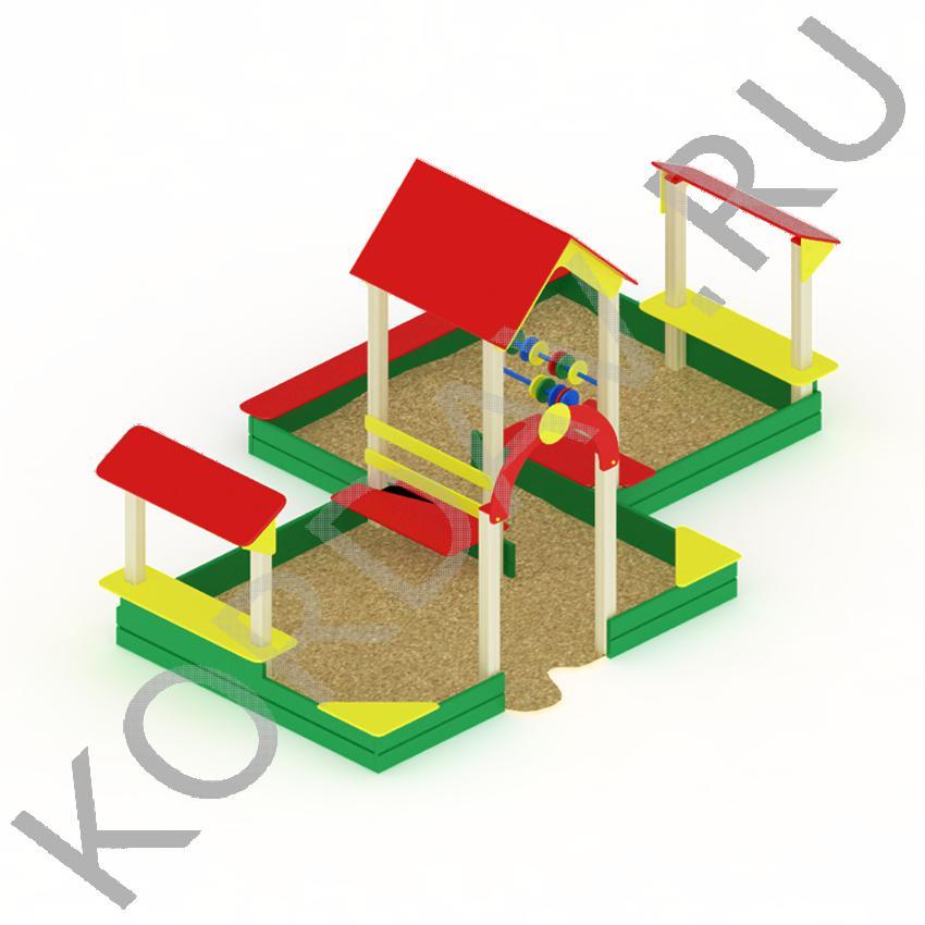 Песочный дворик большой МАФ 8.321