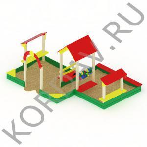 Песочный дворик большой МАФ 8.321 (0)
