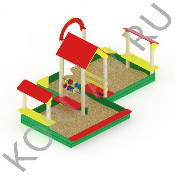 Песочный дворик большой МАФ 8.321 (1)