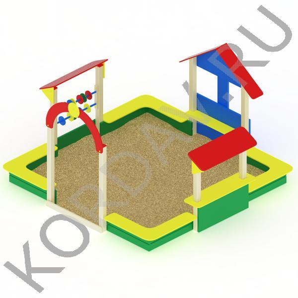 Песочный дворик терем МАФ 8.331