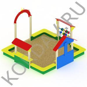Песочный дворик терем МАФ 8.331 (0)