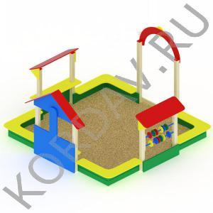 Песочный дворик терем МАФ 8.331 (1)