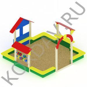 Песочный дворик терем МАФ 8.331 (2)