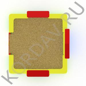 Песочный дворик терем МАФ 8.331 (3)