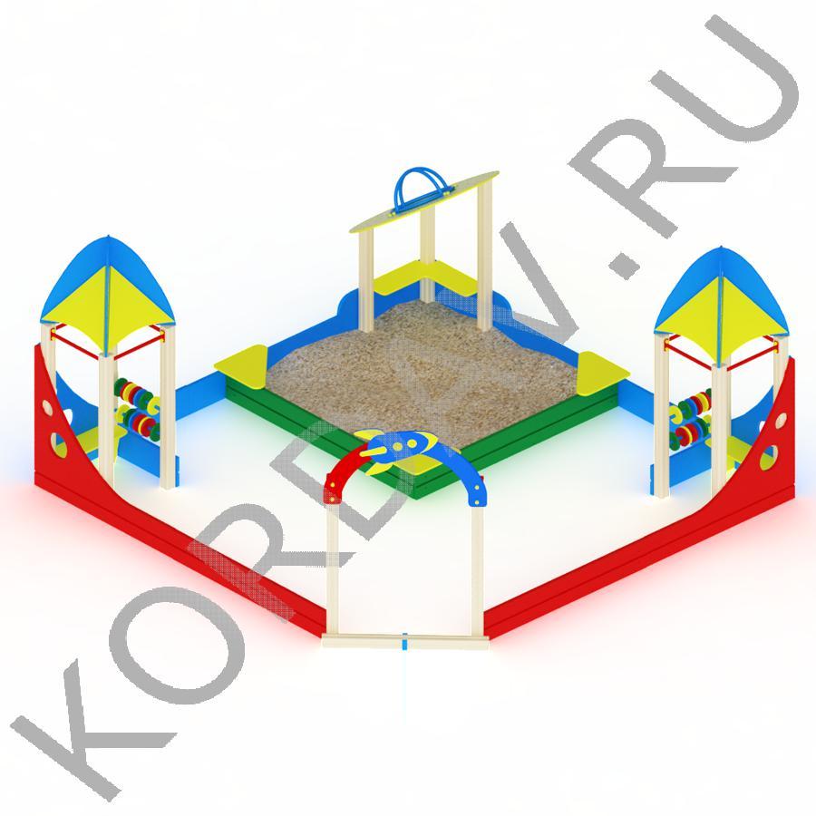 Песочный дворик космос МАФ 8.391