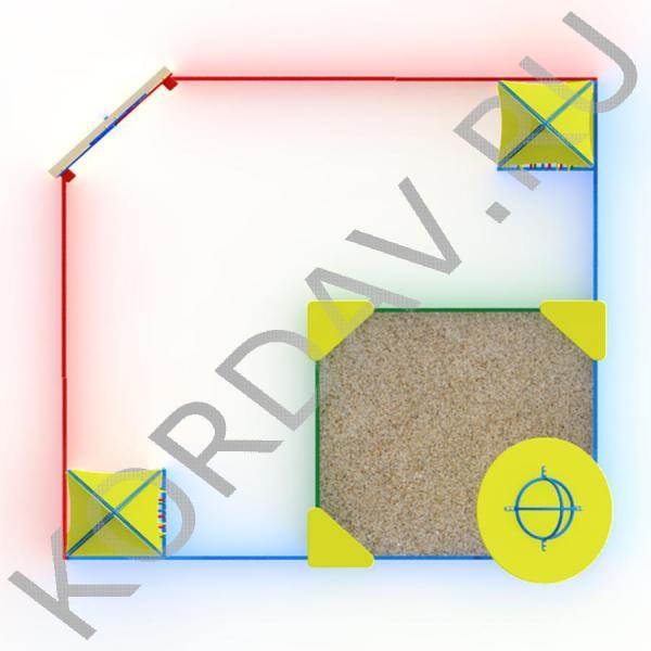 Песочный дворик космос МАФ 8.391 (3)