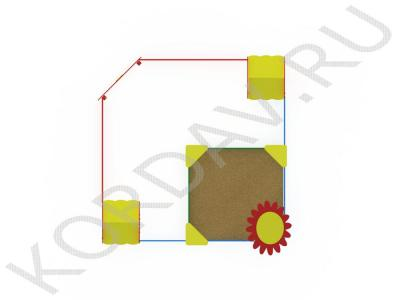 Песочный дворик поле МАФ 8.411 (3)